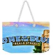 Home Of The Blues - Beale Street Weekender Tote Bag