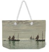 Home On The Morning Tide Weekender Tote Bag