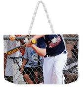 Home Run In The Making Weekender Tote Bag
