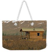 Home Sweet Fishing Home In Alaska Weekender Tote Bag