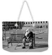 Homeless Man Weekender Tote Bag