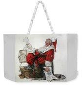Homeless Santa Weekender Tote Bag