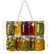 Homemade Preserves And Pickles Weekender Tote Bag