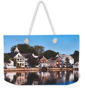 Homes On Kennebunkport Harbor Weekender Tote Bag