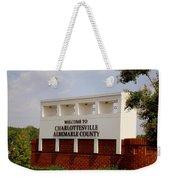 Hometown Series - A Warm Welcome Weekender Tote Bag