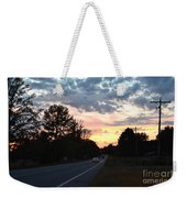 Homeward Bound Evening Sky Weekender Tote Bag