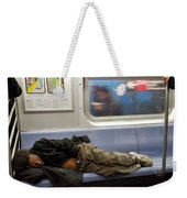 Homeless In Motion Weekender Tote Bag