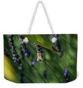 Honey Bee On Flower #4 Weekender Tote Bag