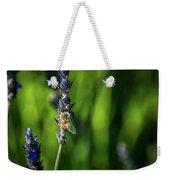 Honey Bee On Flower #5 Weekender Tote Bag