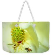 Honey Bees And Magnolia II Weekender Tote Bag