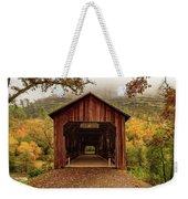 Honey Run Covered Bridge In Autumn Weekender Tote Bag