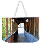 Honeymoon Bridge Sidewalk Weekender Tote Bag