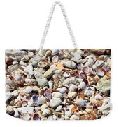 Honeymoon Island Shells Weekender Tote Bag