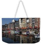 Honfleur Harbour France Weekender Tote Bag