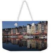 Honfleur Harbour, Normandy, France Weekender Tote Bag