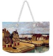Honfleur  Houses On The Quay Weekender Tote Bag