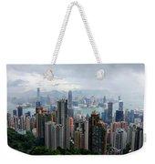 Hong Kong After Rain Weekender Tote Bag