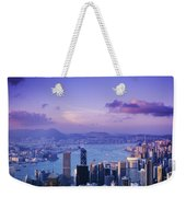 Hong Kong Harbor Weekender Tote Bag