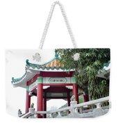 Hong Kong Temple Weekender Tote Bag