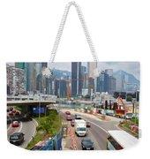 Hong Kong Traffic II Weekender Tote Bag