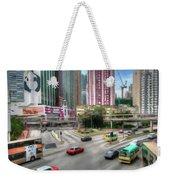 Hong Kong Traffic Weekender Tote Bag
