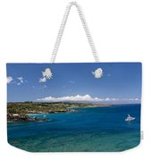 Honolua Bay Weekender Tote Bag by Jim Thompson