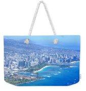 Honolulu And Waikiki From The Air Weekender Tote Bag