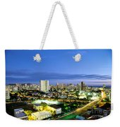 Honolulu City Lights Weekender Tote Bag