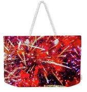 Honolulu Fireworks Weekender Tote Bag