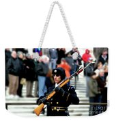 Honor Guard At Arlington Cemetery Weekender Tote Bag