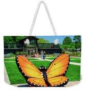 Honor Heights Butterfly House Weekender Tote Bag