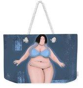 Honor My Curves Weekender Tote Bag