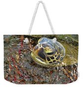 Honu In The Water Weekender Tote Bag