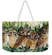 Hoo Is Looking At Me? Weekender Tote Bag