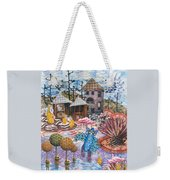 Hoo Is Watching The Chicken Coop Weekender Tote Bag