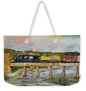 Hooch - Chattahoochee River - Columbus Ga Weekender Tote Bag