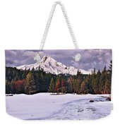 Hood On Ice Weekender Tote Bag