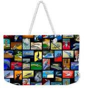 Hood Ornament Art -10 Weekender Tote Bag by Jill Reger