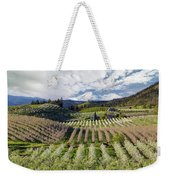 Hood River Pear Orchards On A Cloudy Day Weekender Tote Bag