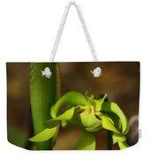 Hooded Pitcher Plant Weekender Tote Bag