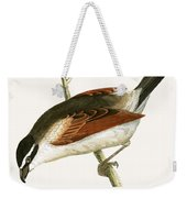Hooded Shrike Weekender Tote Bag