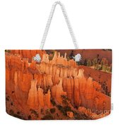 Hoodoos At Sunrise Bryce Canyon National Park Utah Weekender Tote Bag