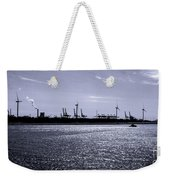 Hook Of Holland Shipping Canal Weekender Tote Bag
