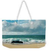 Hookipa Beach Pacific Ocean Waves Maui Hawaii Weekender Tote Bag