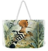 Hoopoe Weekender Tote Bag by Edouard Travies