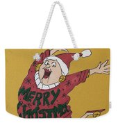 Hooray Hooray It's Ugly Sweater Day Weekender Tote Bag
