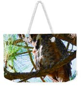 Hoot Is Down There? Weekender Tote Bag