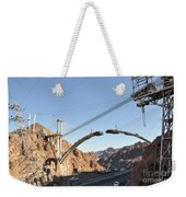 Hoover Dam Bypass Highway Under Construction Weekender Tote Bag