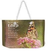 Hope In The Lord Weekender Tote Bag