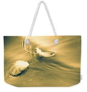 Hope Is The Thing With Feathers Weekender Tote Bag